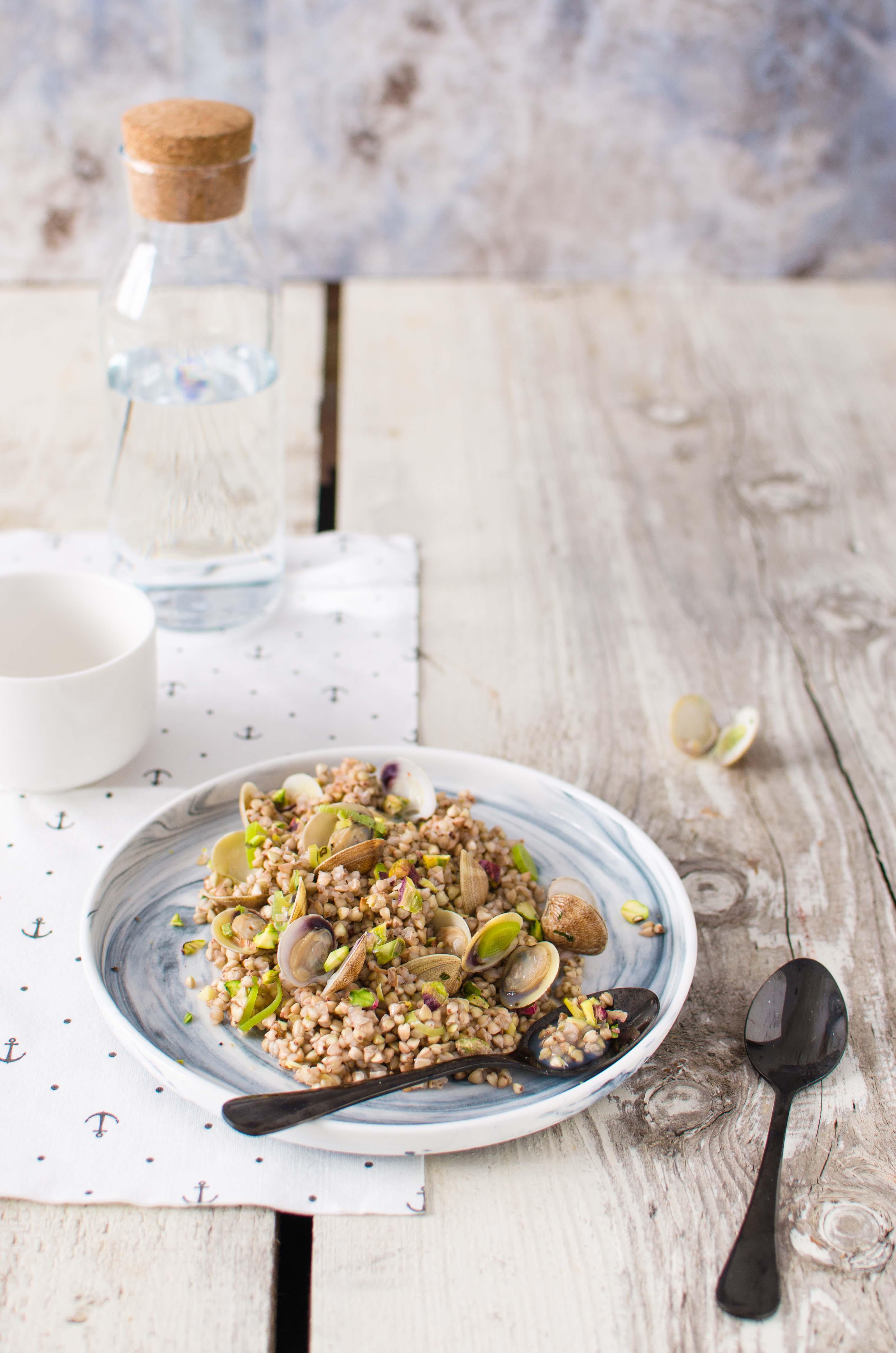 lupini-mare Grano saraceno, lupini e pistacchi