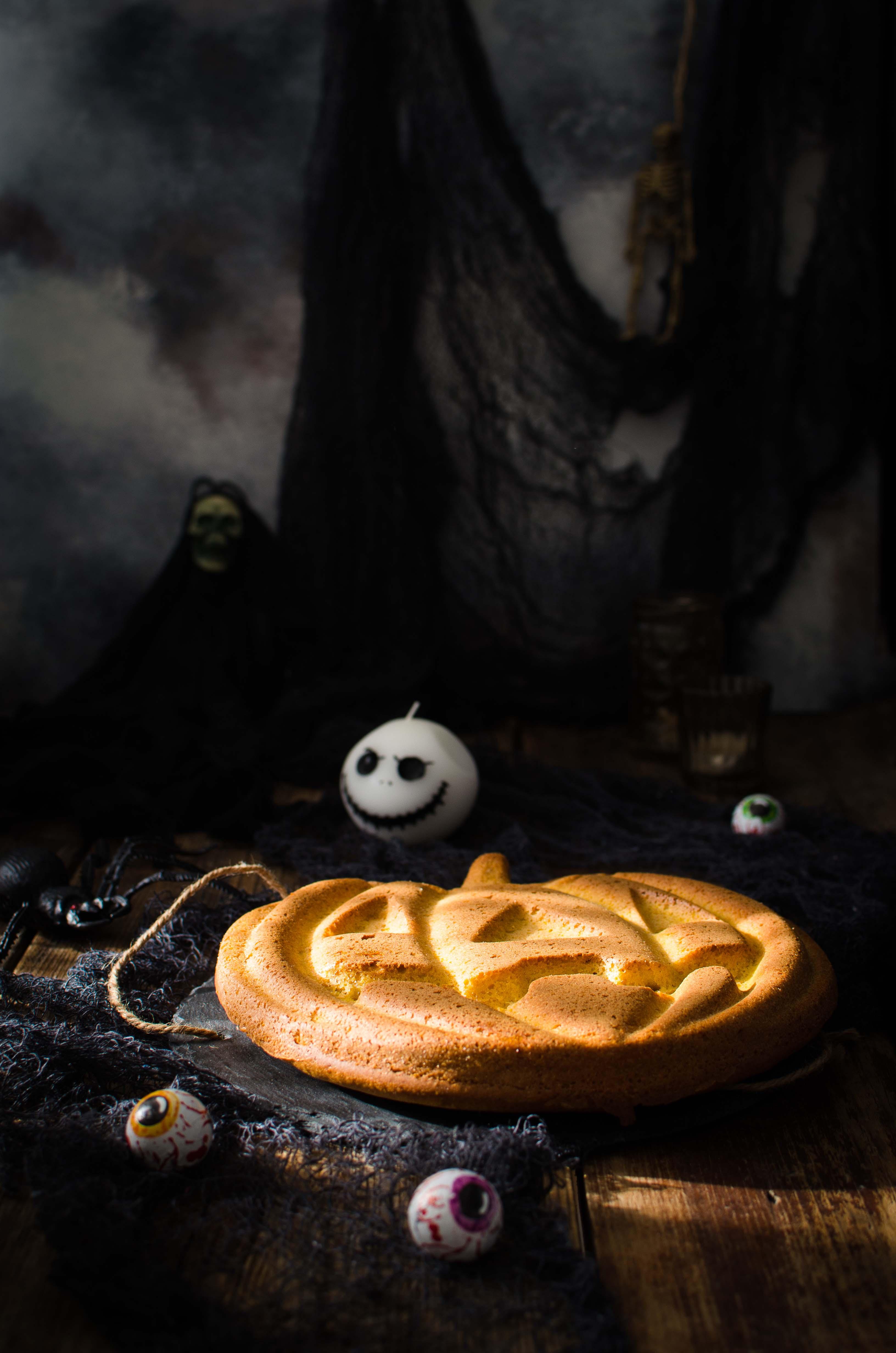 """alt=""""torta di zucca halloween"""""""