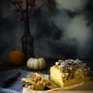 Plum cake con crumble alla zucca e spezie