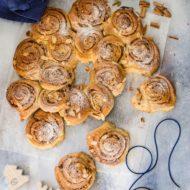Cinnamon rolls con lievito madre