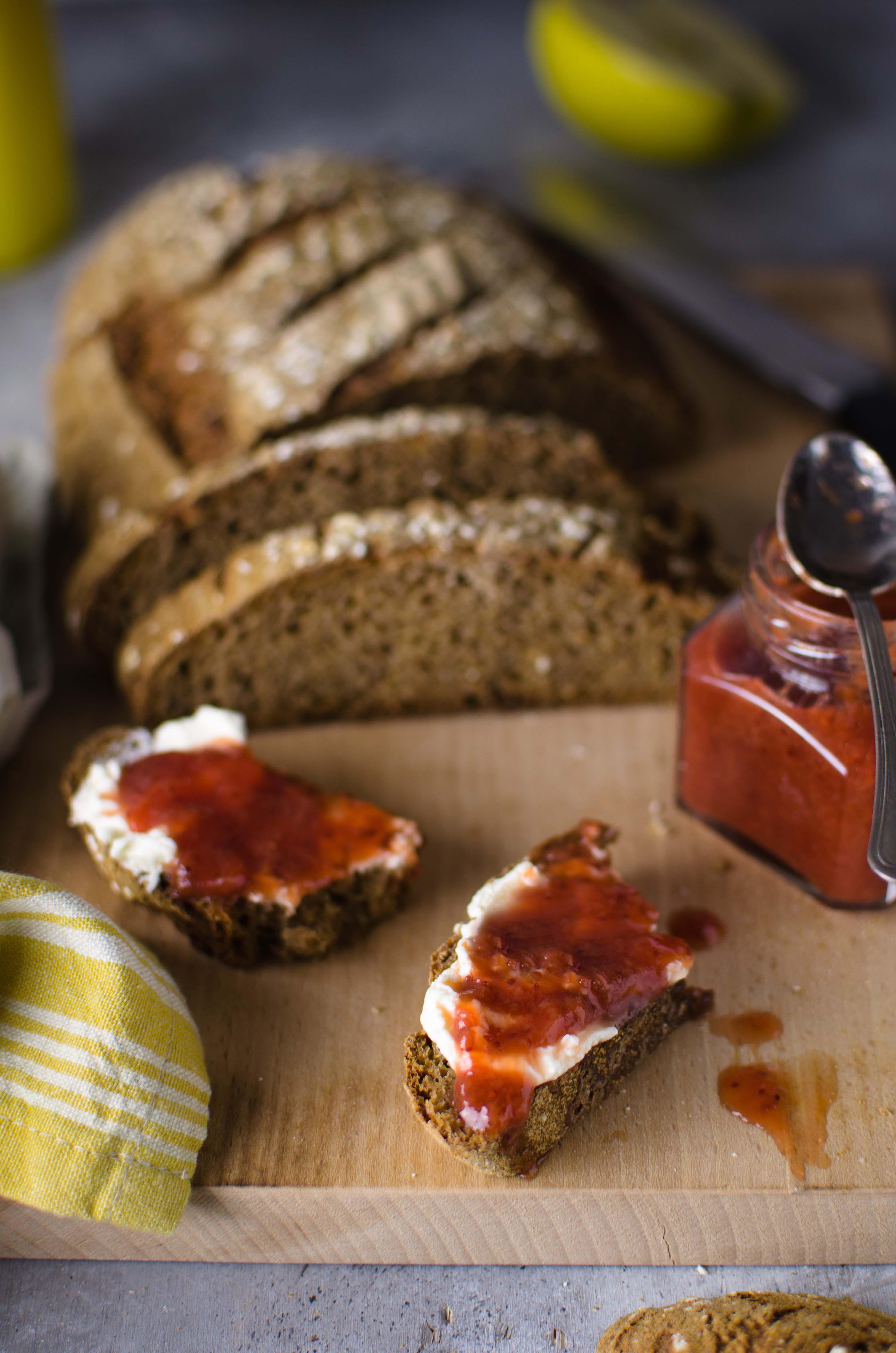 Pane-e-marmellata Pane di segale alle mele