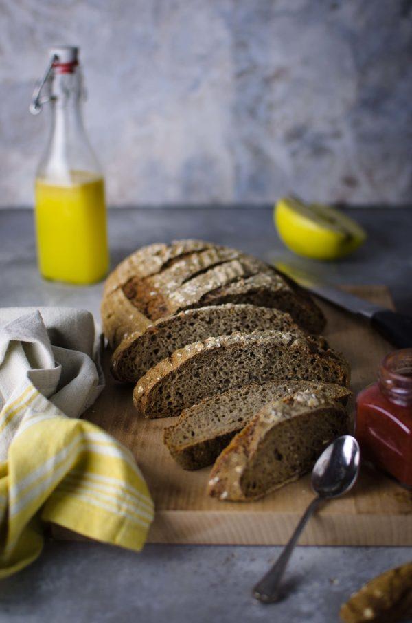 Pane-farina-di-segale-e-semola-600x906 Pane di segale alle mele