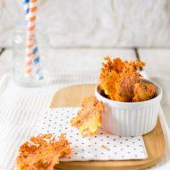 Chips di arancia e carote