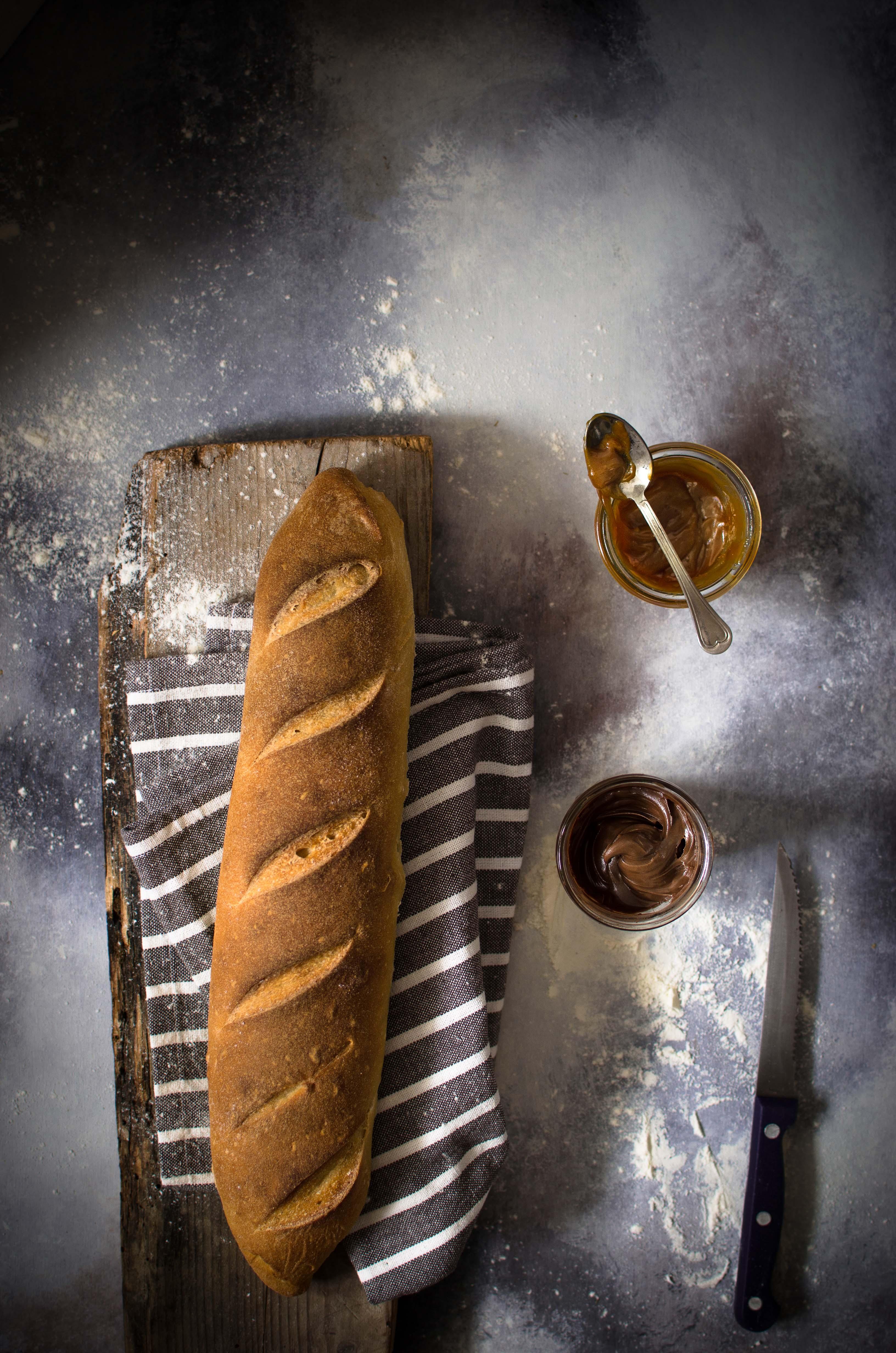 pane-al-caramello Baguette al caramello