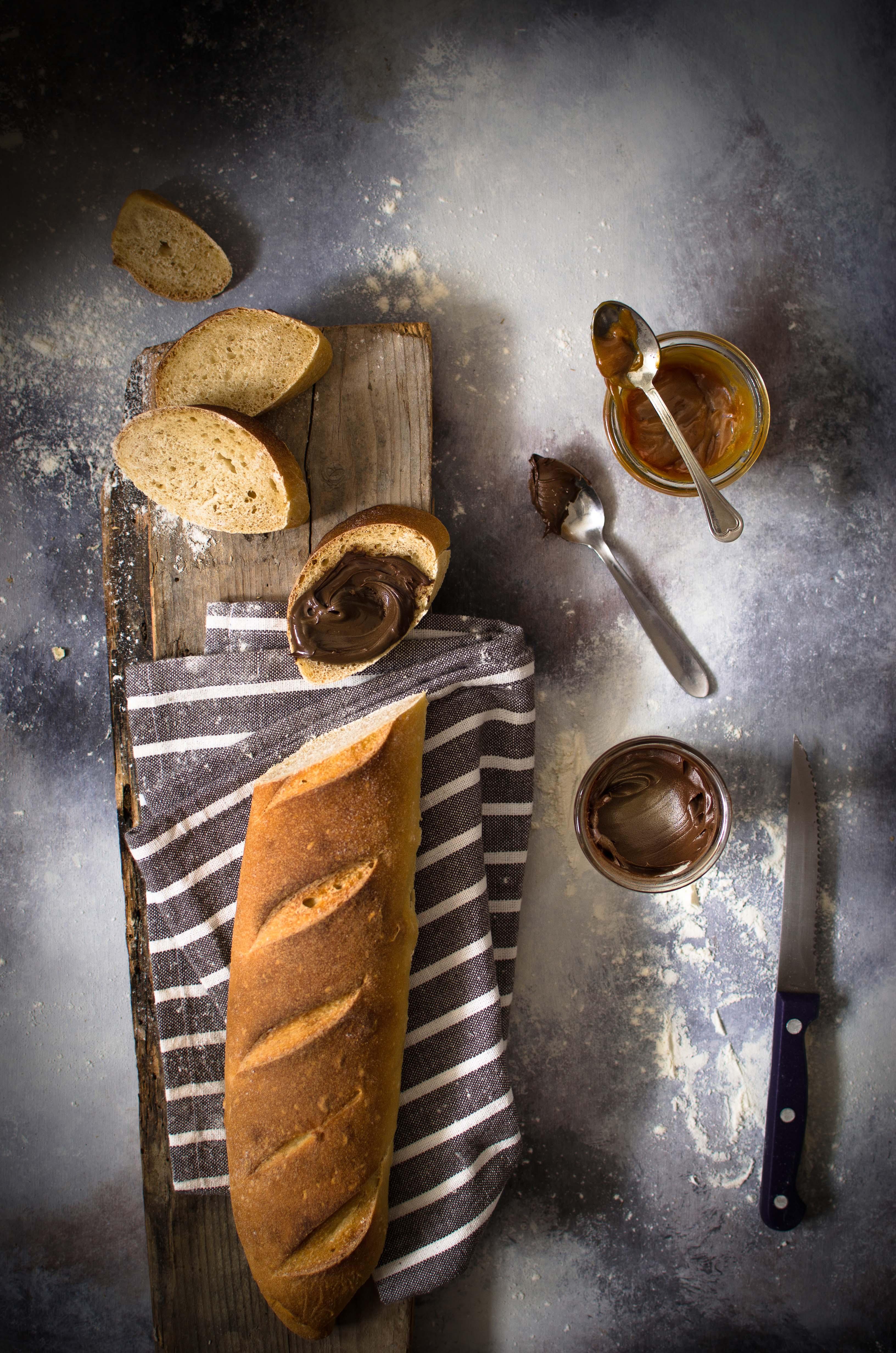 pane-e-nutella Baguette al caramello