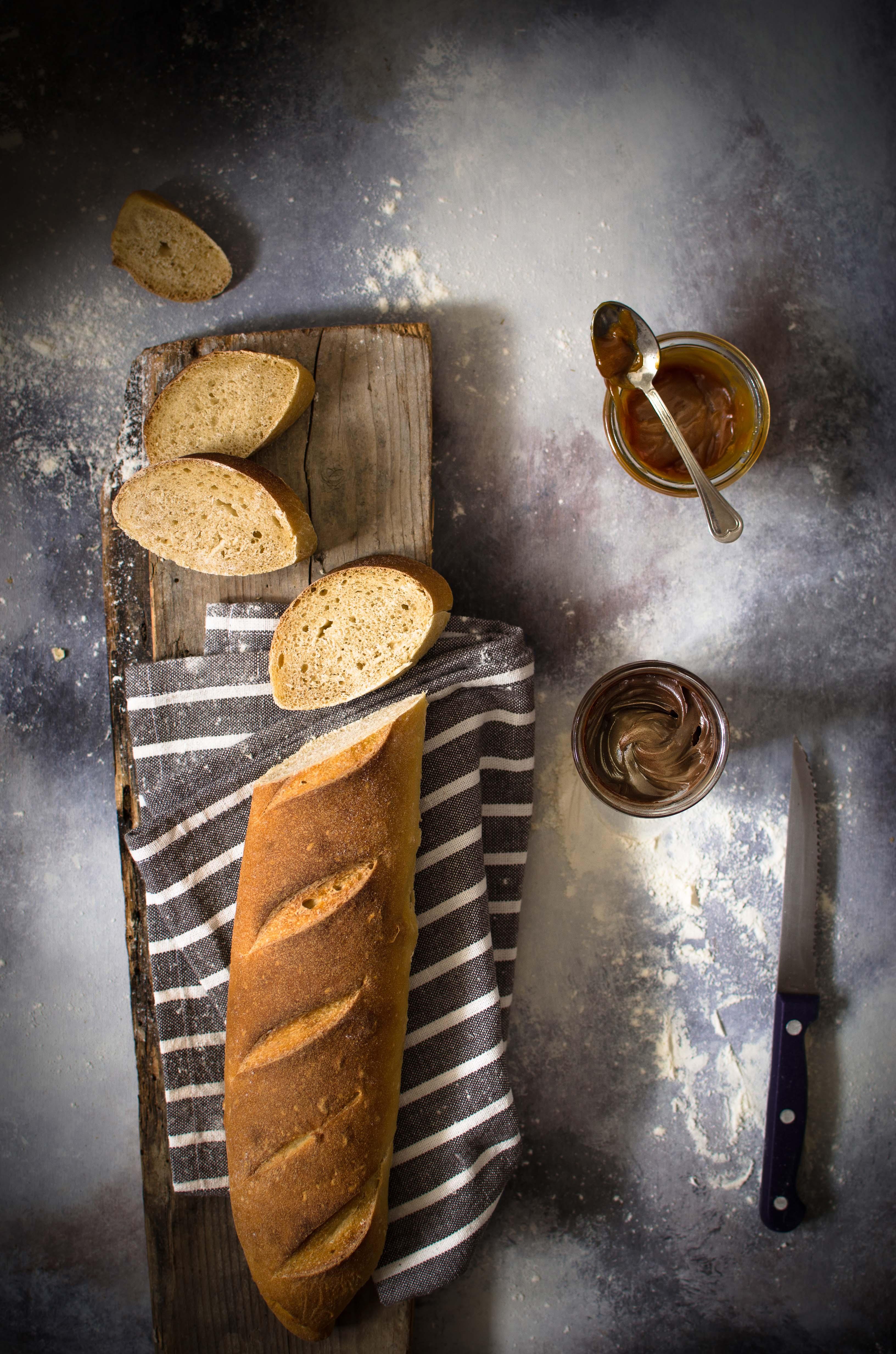 pane-lievitato-al-caramello Baguette al caramello