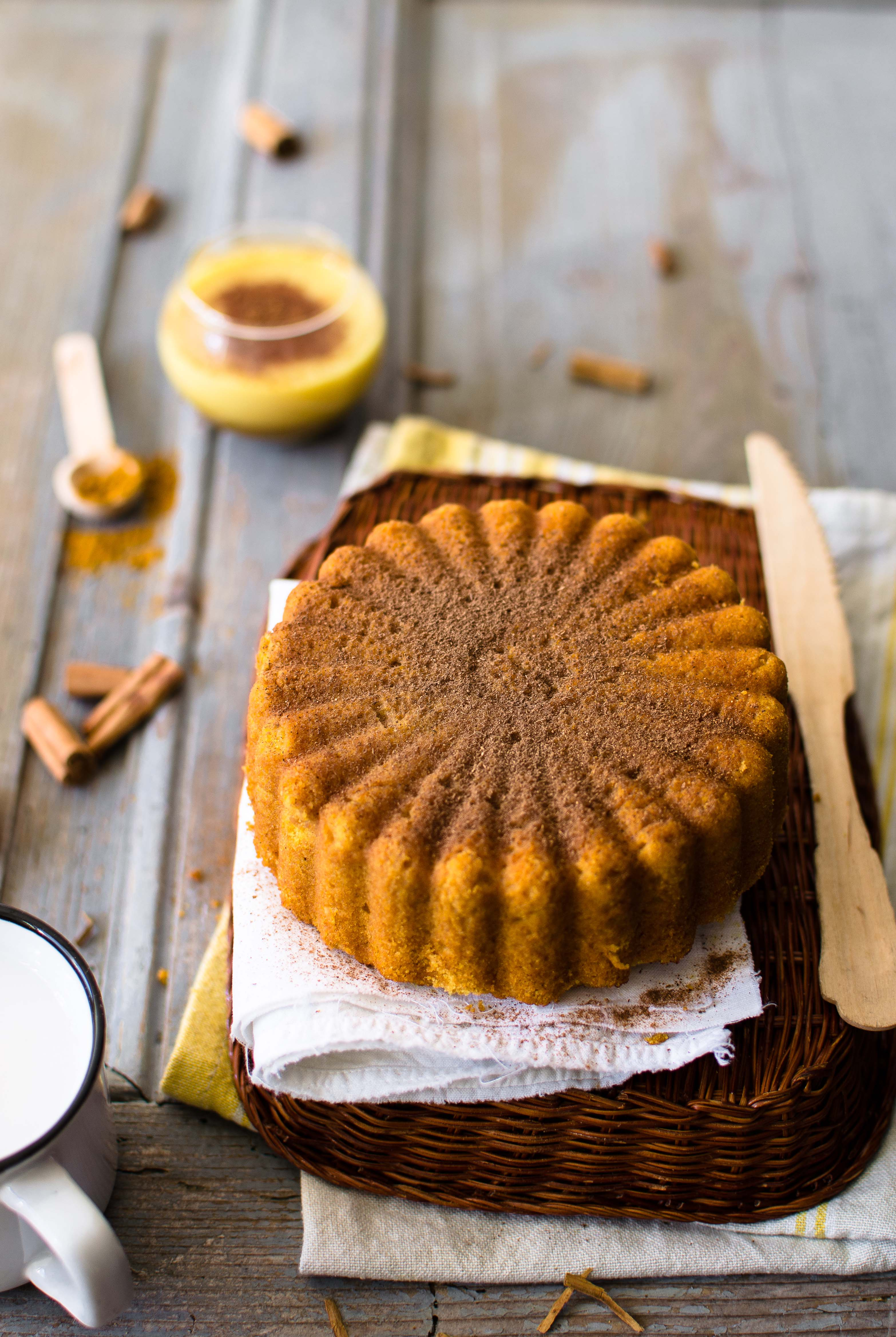 Torta-al-golden-milk Golden Milk cake
