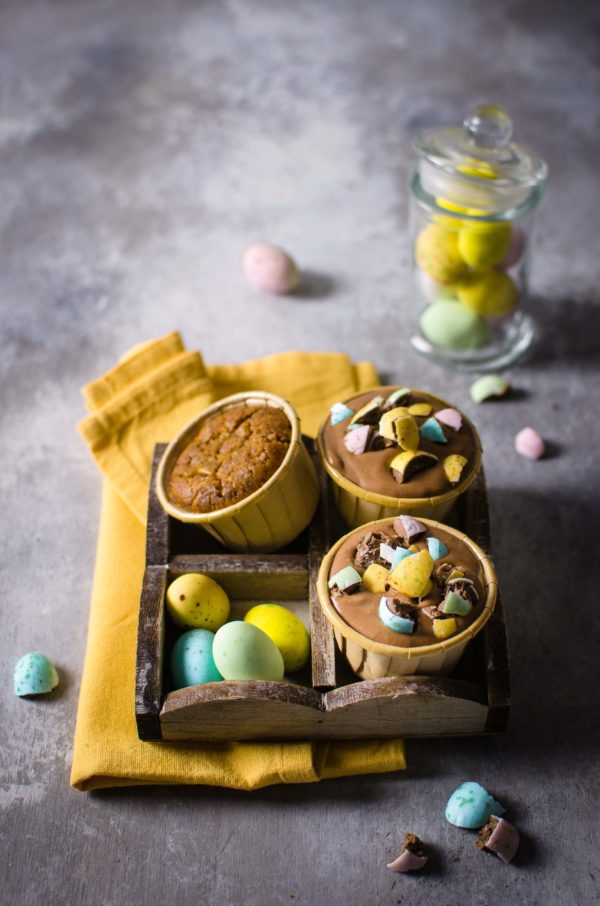 cupcakes_cioccolato-600x906 Cupcakes grano saraceno, crema al cioccolato fondente