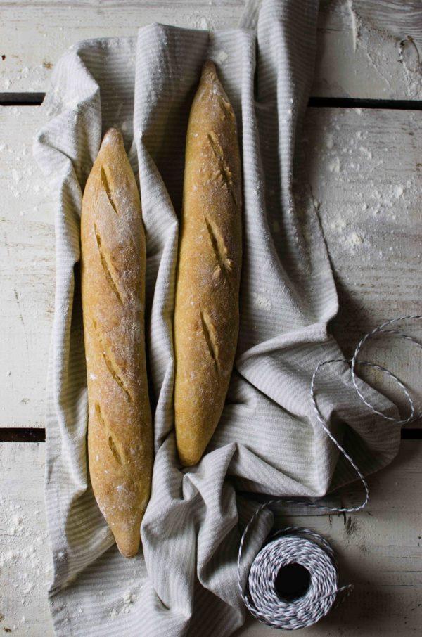 baguette-600x906 Baguette con caponata fredda di melanzane