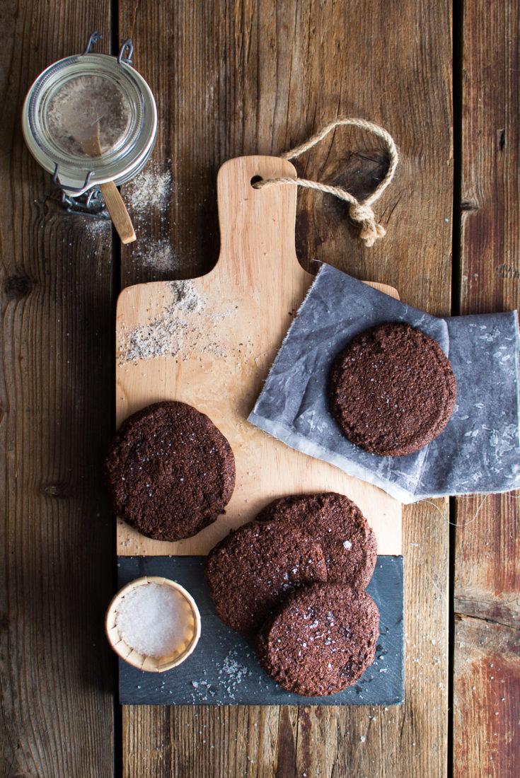 Biscotti fondente sale