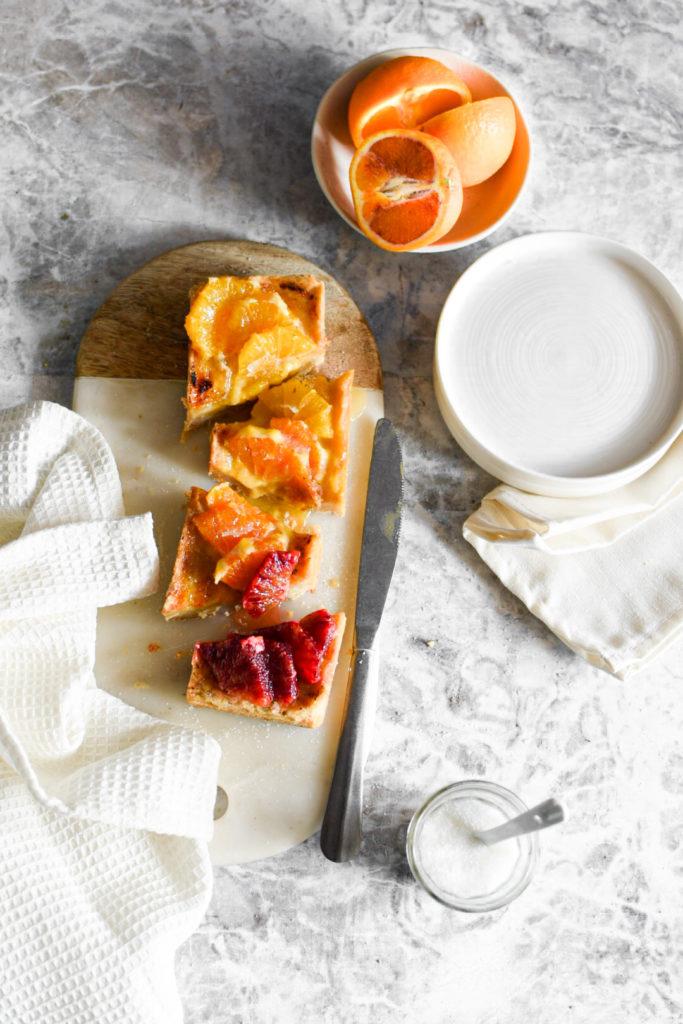 82A0F844-3391-4E0A-B79C-CFC6A5CBB073-683x1024 Crostata alle arance e crema alla vaniglia